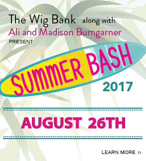 The Wig Bank along with Ali and Madison Bumgarner present: Summer Bash 2017. August 26th. Click here to learn more.